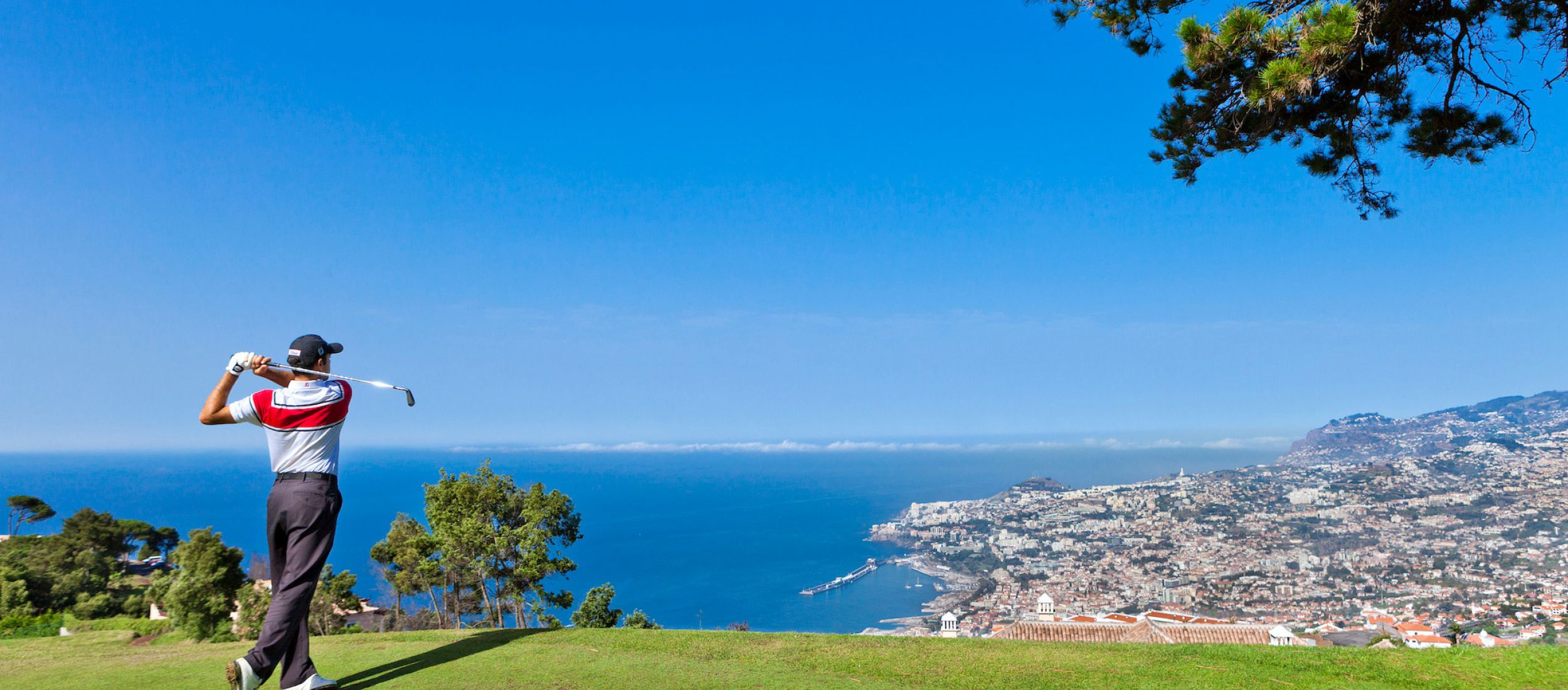 The bay of Funchal